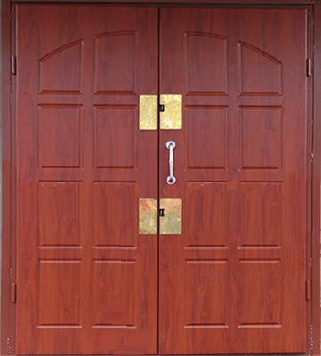 фото двухпольных дверей