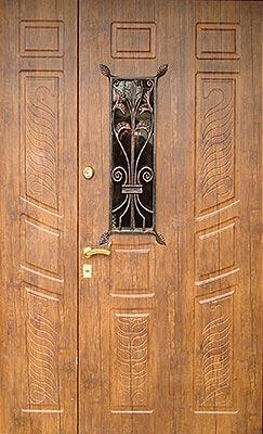 Двухпольные двери на заказ