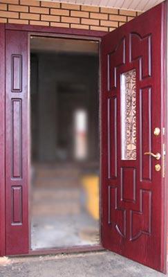 Двухпольные двери, фото