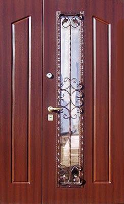 Двухпольные двери