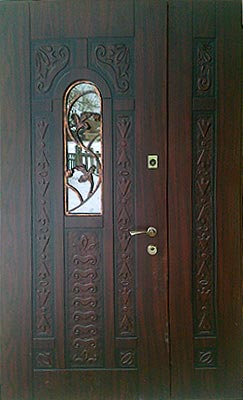 Двухпольные двери стоимость
