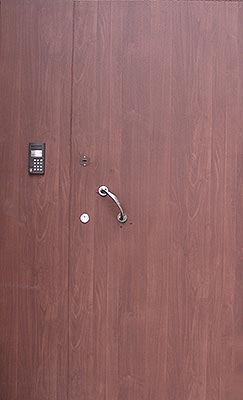 Двухпольные двери МДФ