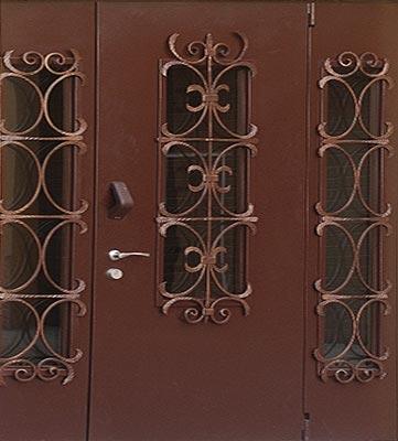 стоимость двухпольных дверей