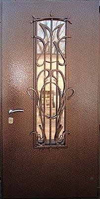 Однопольные двери металлические