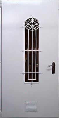 Однопольные двери противоударные
