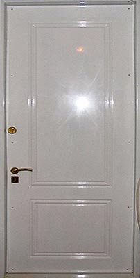 противоударные однопольные двери на заказ
