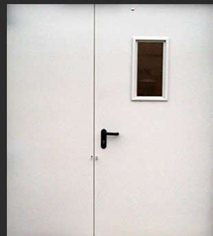 Стоимость противопожарной двери