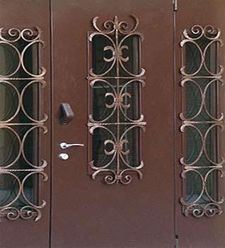 Заказать дверь входную металлическую с установкой