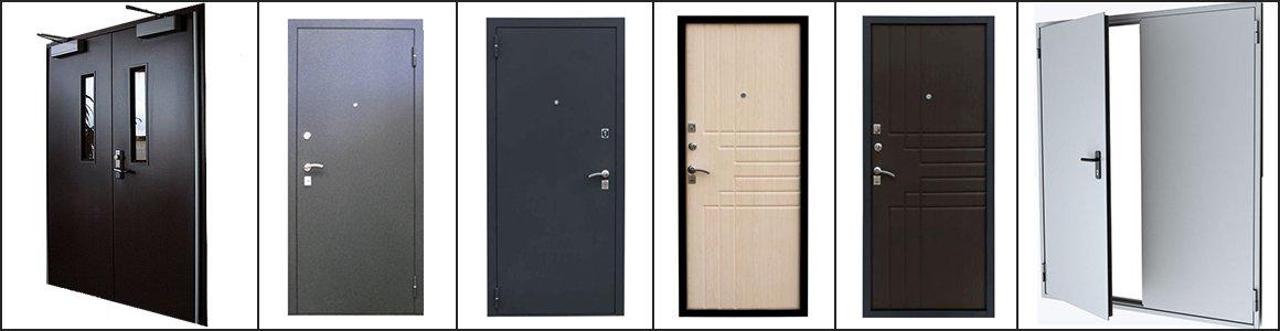 стальная дверь для установки в частный дом